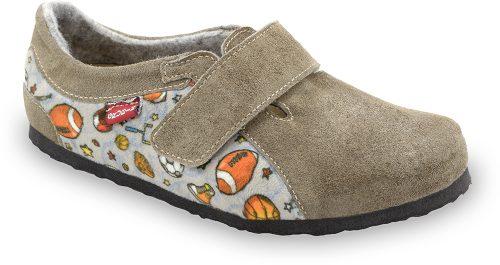 Bali dječje tople papuče broj 30 do 35